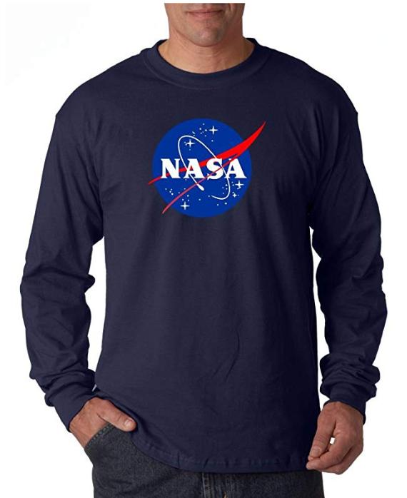 T-shirts da NASA para homens 2019
