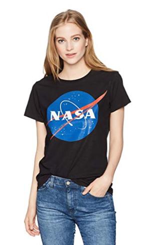 T-SHIRT NASA FEMME