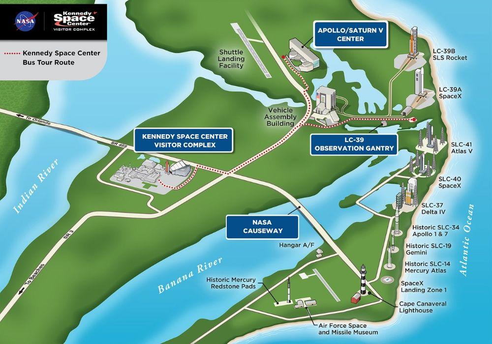 kennedy space center plan