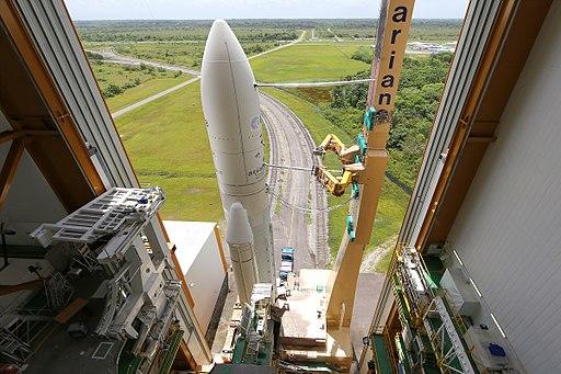 एरियान 5 अंतरिक्ष रॉकेट और समाचार के बारे में सब कुछ