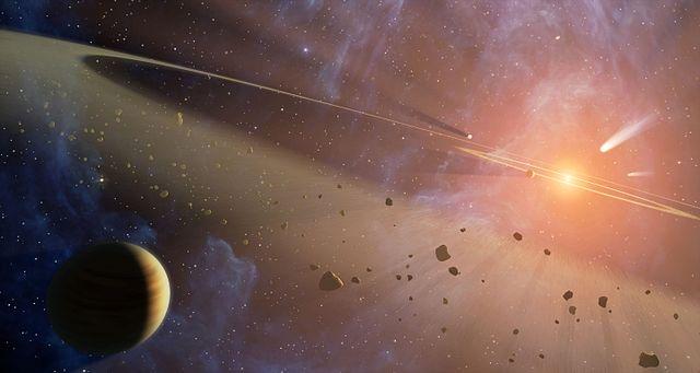 The Epsilon Eridani planetary system