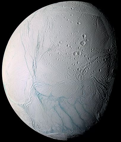 On Enceladus, organic compounds necessary for life
