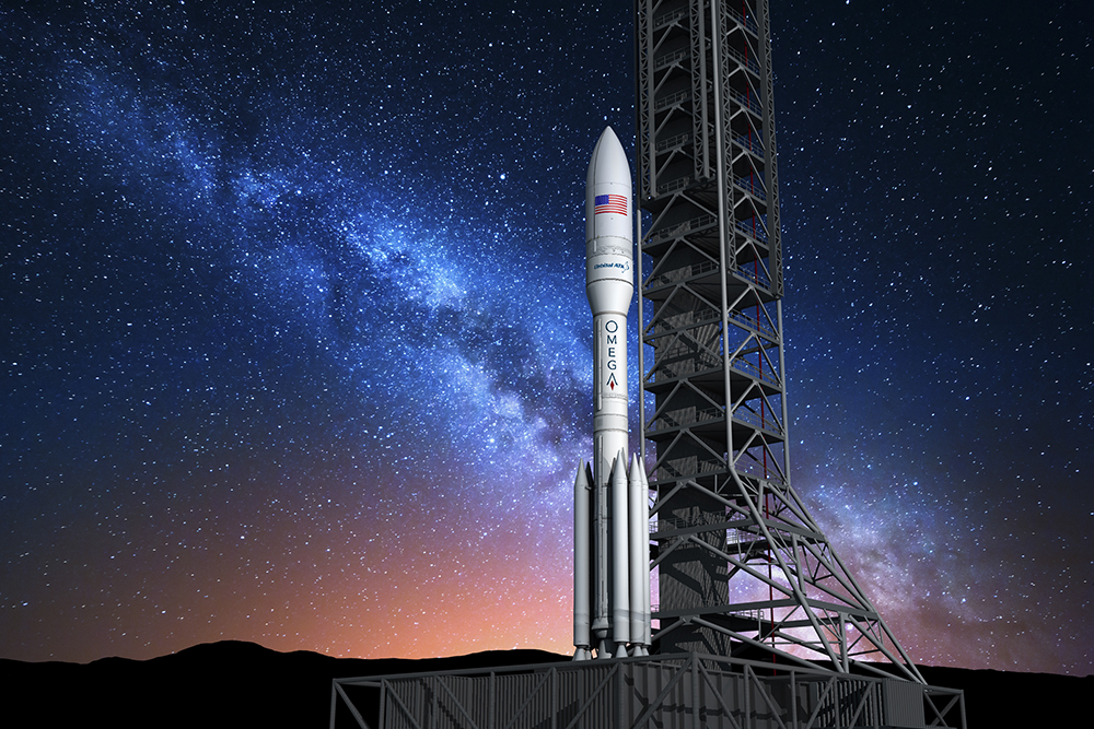 All about Northrop Grumman's OmegA rocket (Orbital ATK) and news