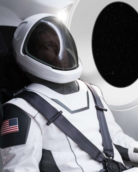 All about the space suit of SpaceX and news
