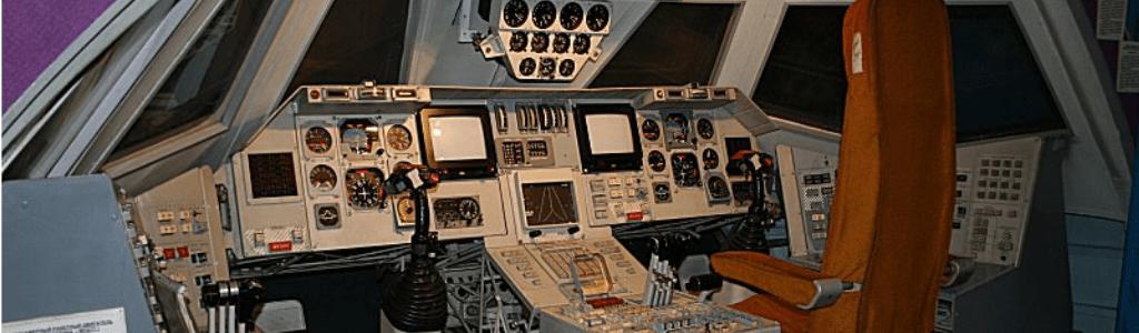 buran cockpit