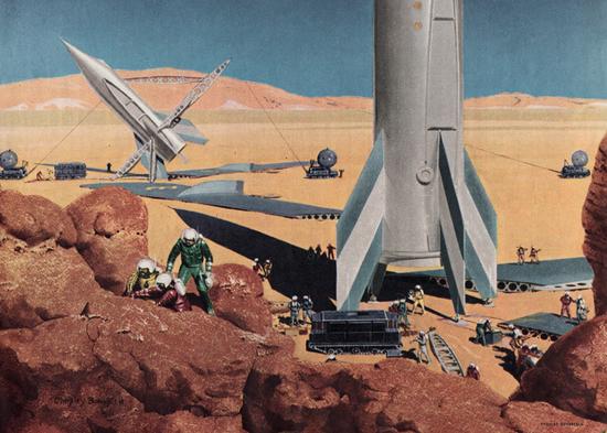 colonización de Marte
