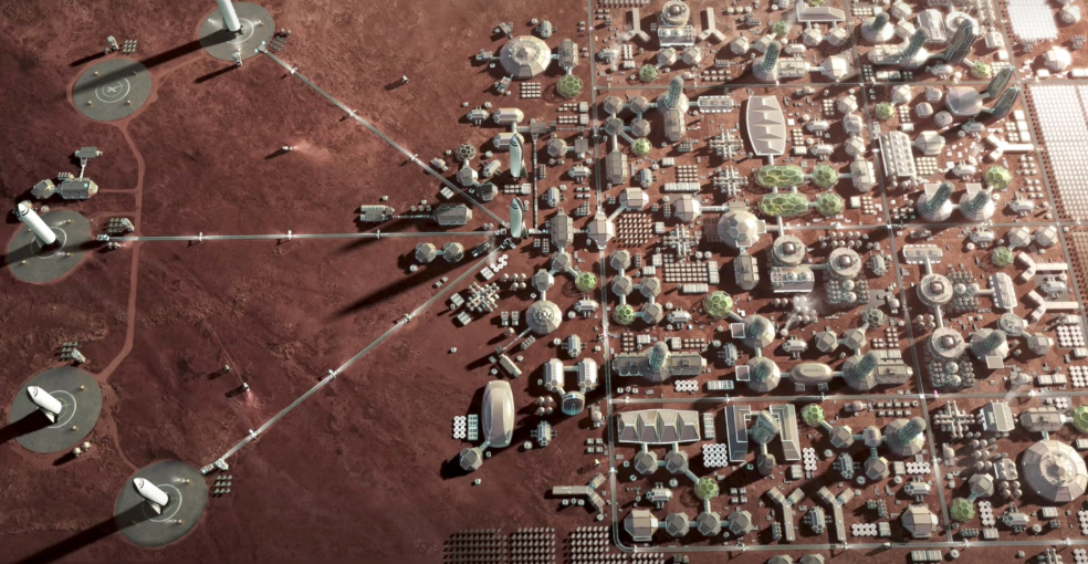 All about Mars colonization and news