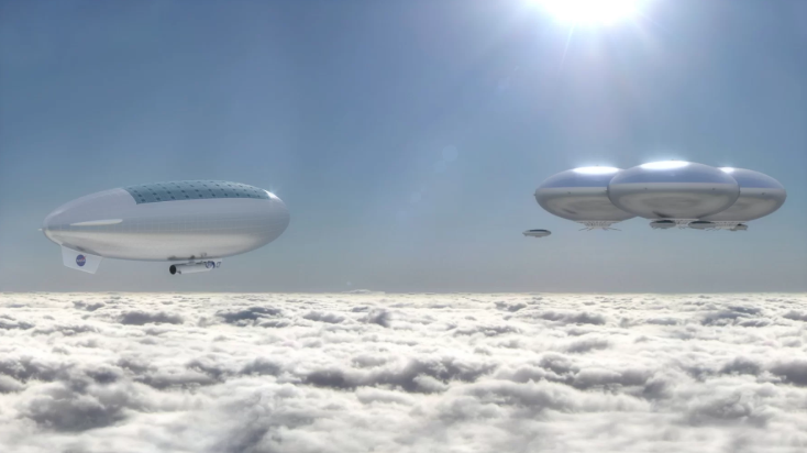 airship venus atmosphere