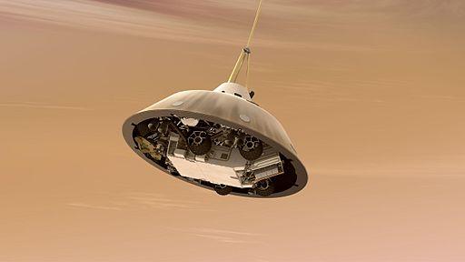 curiosity rover landing mars