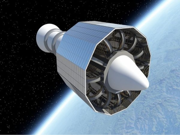 magnetic shield for spacecraft