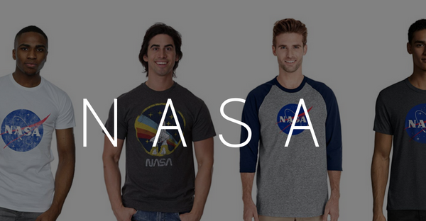 men nasa t shirt