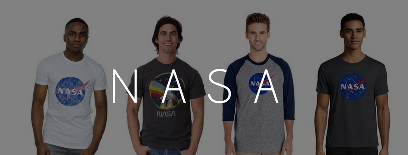 Men's NASA T-shirts