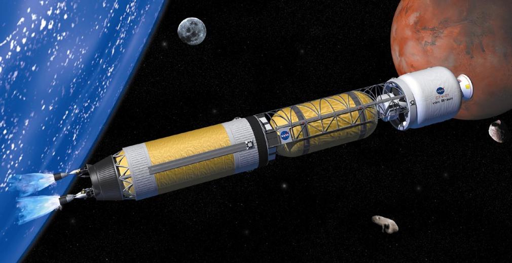 Alles über nuklearen thermischen Antrieb im Weltraum und Nachrichten