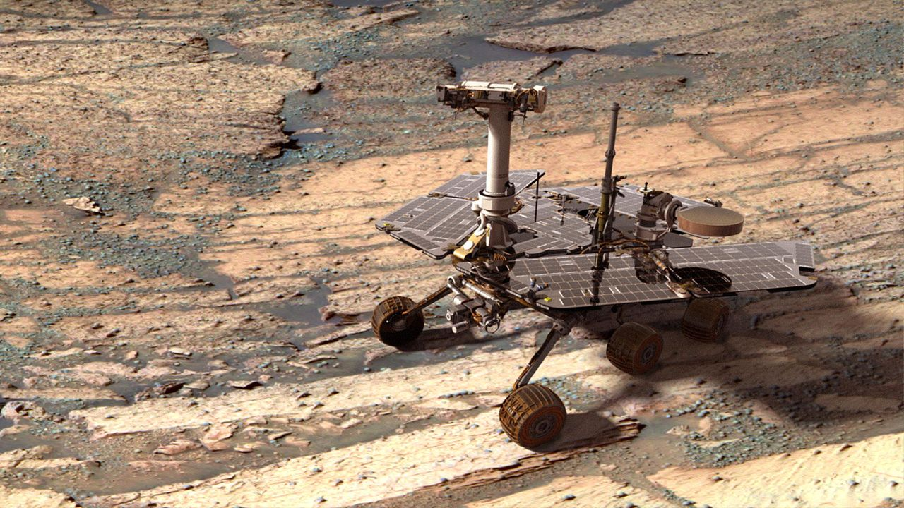 All about the Opportunity rover on Mars and news