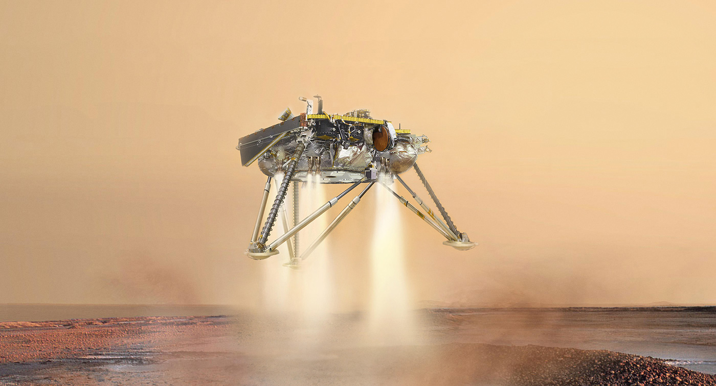 insight landing on mars live