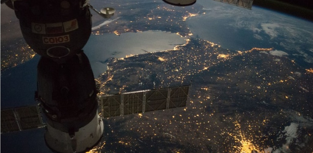 earth seen from space station quiz 10