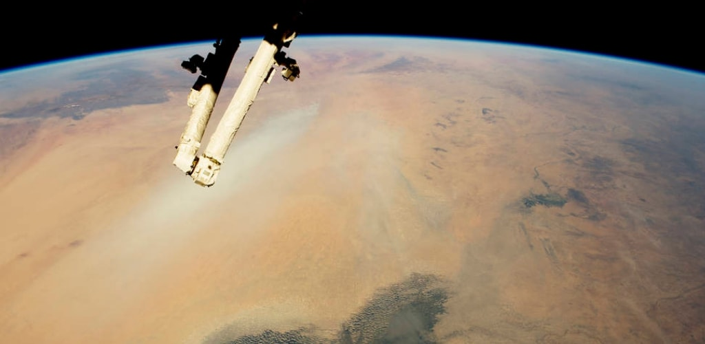 earth seen from space station quiz 5