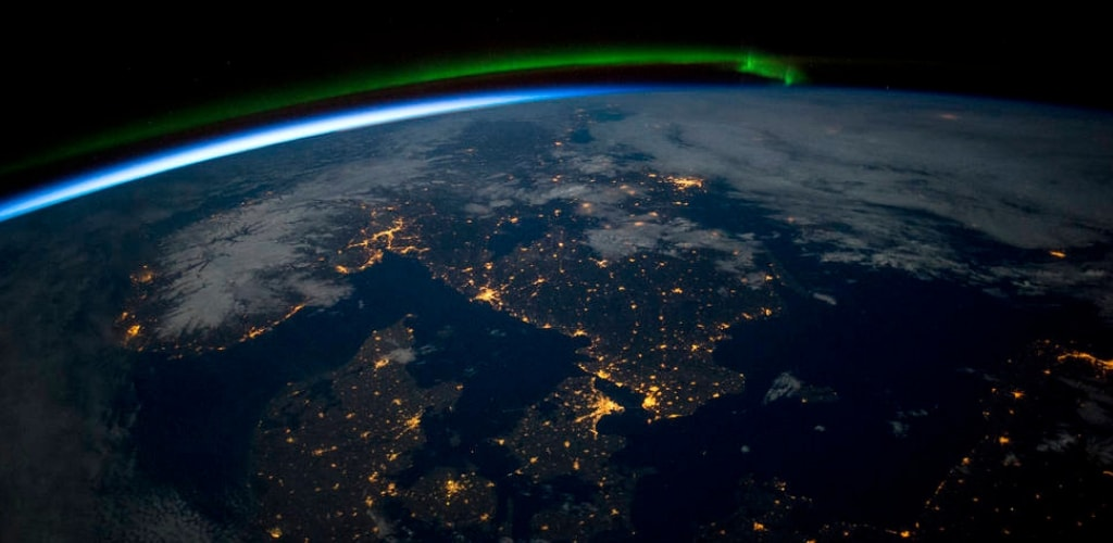 earth seen from space station quiz 7