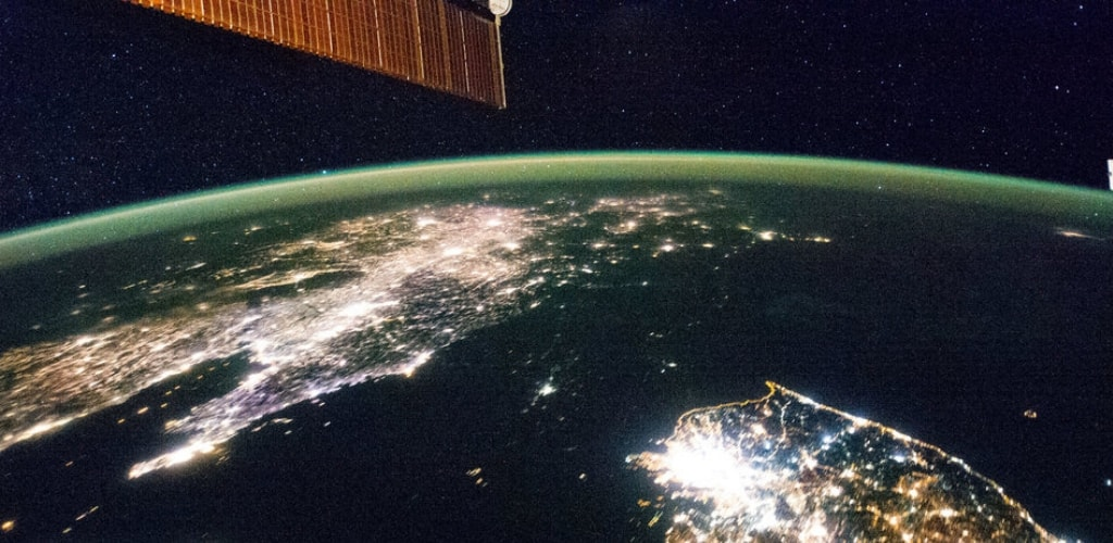 earth seen from space station quiz 9