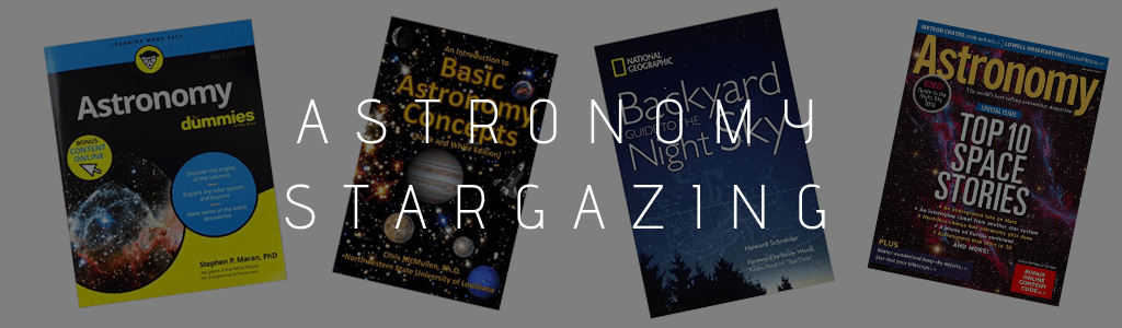 astronomy stargazing books magazines