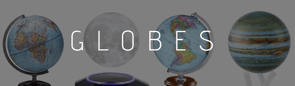 planets moon globes