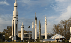 Besuchen Sie das US Space & Rocket Center in Huntsville, Alabama, USA