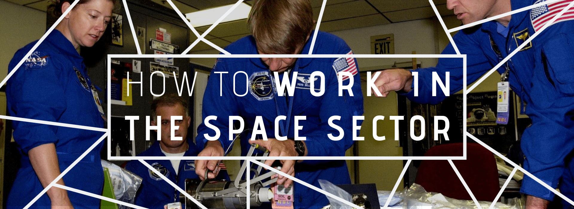 work in the space sector