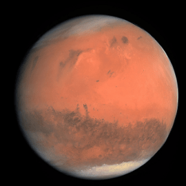 space activities on Mars