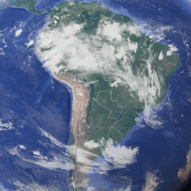 space activities in south america