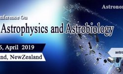 2nd International Conference on Astronomy, Astrophysics & Astrobiology - April 4-6, 2019 - Auckland (New Zealand)