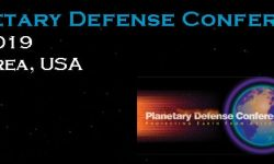 2019 IAA Planetary Defense Conference - April 29 - May 3, 2019 - Washington DC (U.S.A.)