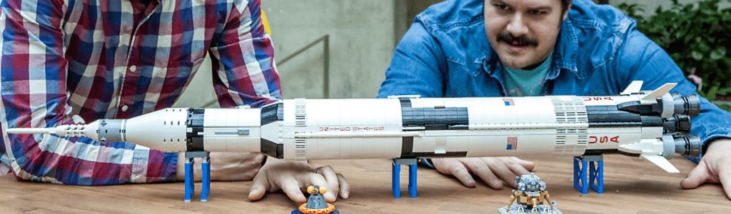 Lego Saturn V Space Rocket 2019