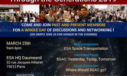 SGAC Through the Generations 2019  -  2019年3月25日 - パリ(フランス)