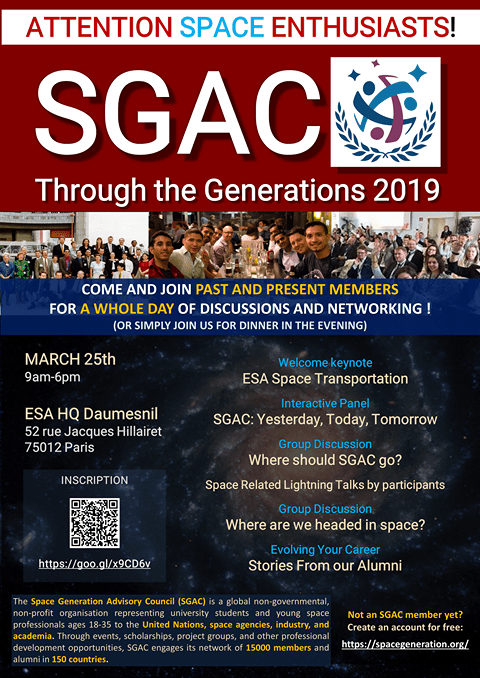 sgac through the generations 2019