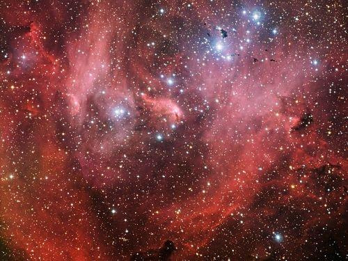 running chicken nebula ic 2944