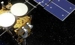 Hayabusa 2 performs one of its last missions on Ryugu