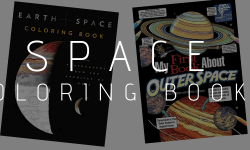 Space coloring books