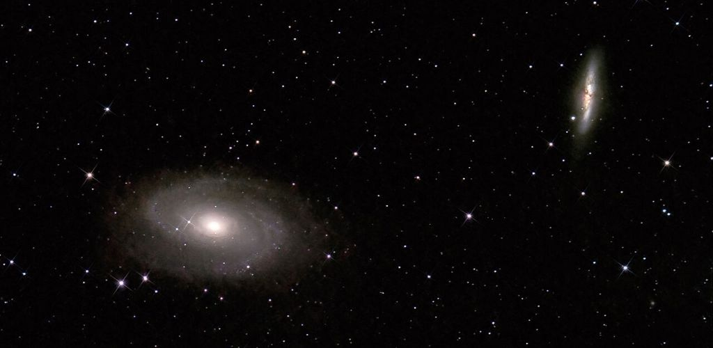bode's galaxy m81 and cigar galaxy m82