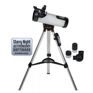 computerized telescope celestron 114lcm