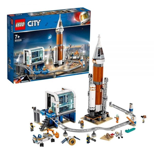 lego city space deep space rocket and launch control 60228