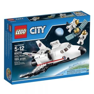 lego city space port utility shuttle 60078