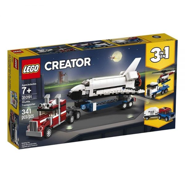 lego creator 3in1 shuttle transporter 31091