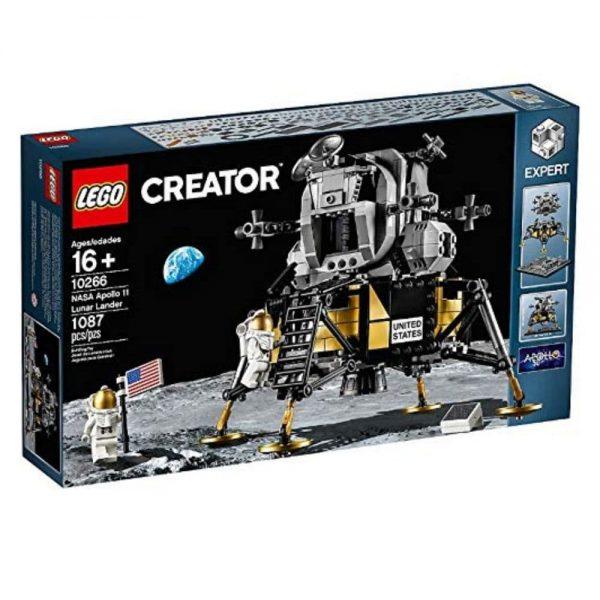 lego creator nasa apollo 11 lunar lander set 10266