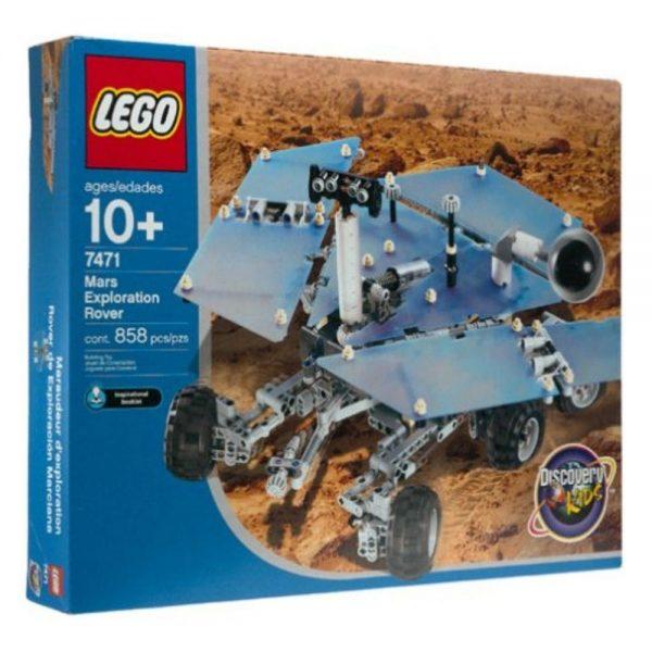 lego discovery mars exploration rover 7471