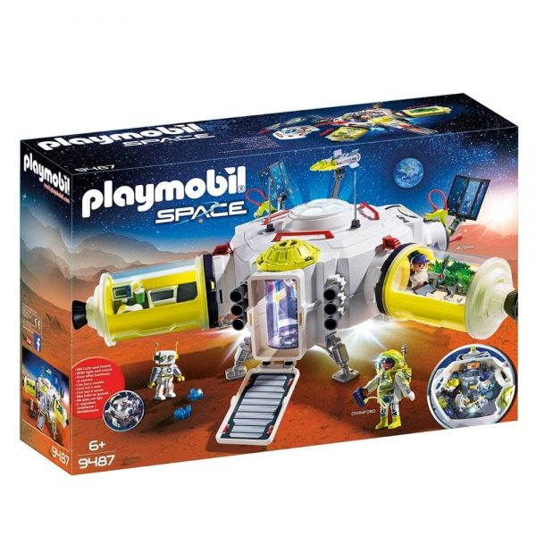 playmobil mars space station 9487
