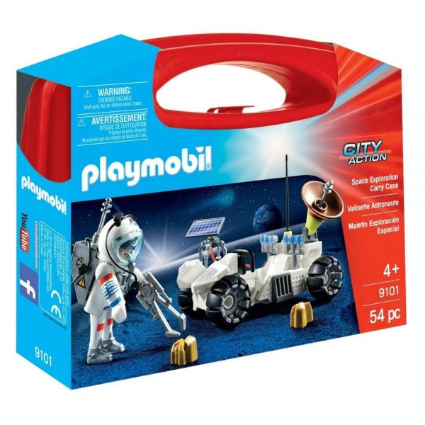 playmobil space exploration carry case 9101