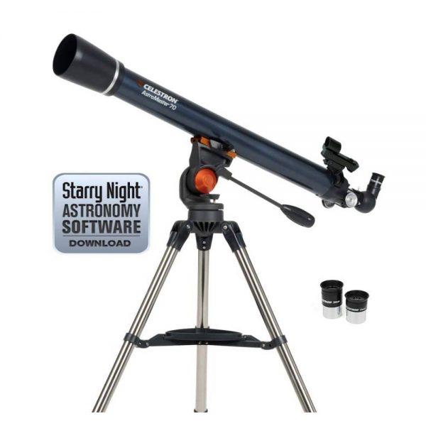 refractor telescope celestron astromaster 70az