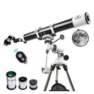 refractor telescope gskyer eq 80900
