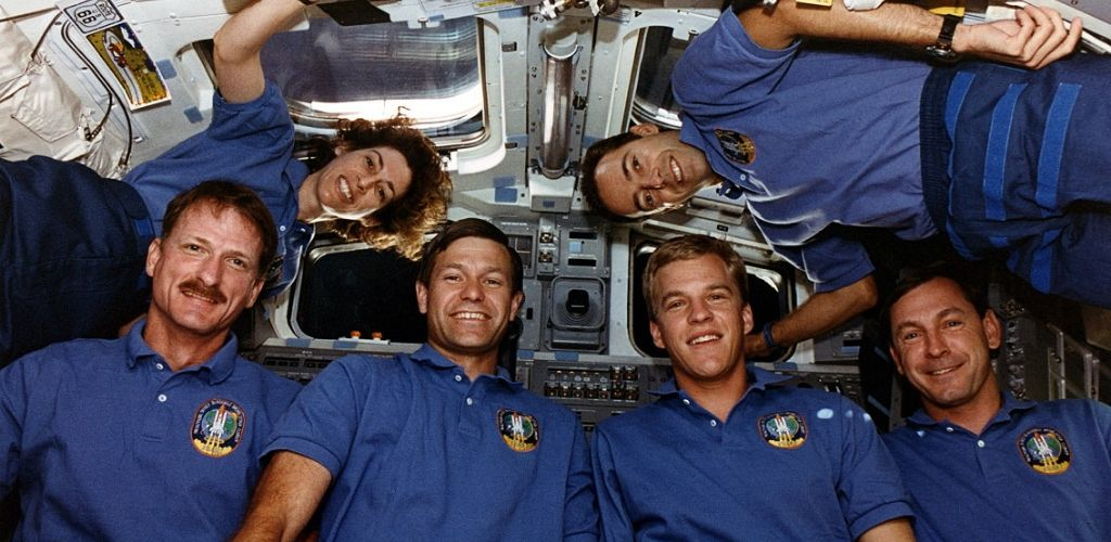 astronauts weightlessness