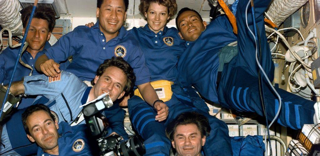 mir astronauts
